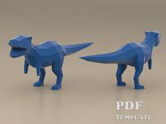 Animapapir Download Tempalte Download Scheme For Paper Model Pdf Template Papercraft Download Animal Template Papercraft And Other